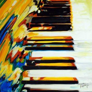 JAZZ-PIANO-ABSTRACT